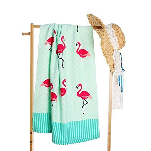 MKHB Mode Leuke Flamingo Stijl Zomer Strand Handdoek Drogen Wasdoek Microvezel Handdoek Strand