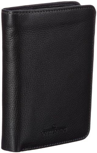 Maïtre Herren Brieftasche Mafia aus Leder Billfold, Schwarz (black 900), 10x13x1 cm (B x H x T)
