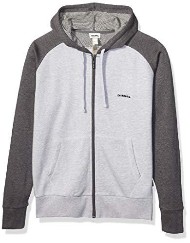 Diesel Herren Sweatshirt Brainz - grau - X-Large