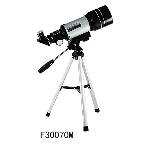 Lcxghs Telescopio Astronómico De Refractor Espacial con Trípode Ajustable Y Buscador, Juguetes De Exploración De La Naturaleza, Juguetes Científicos