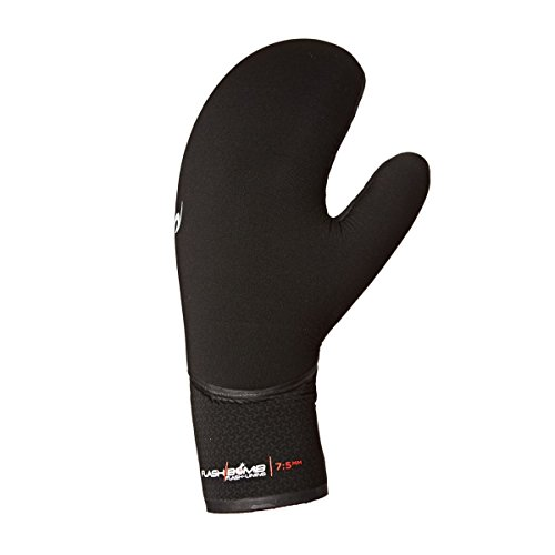 RIP CURL FlashBomb 7 / 5mm Mitten Handschuhe Black - Flash Lining - Unsere preisgekrönte Flash Bomb-Technologie ist in einen Handschuh integriert