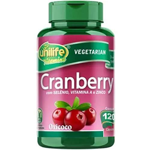 Cranberry Oxicoco Unilife 120 Capsulas 500mg