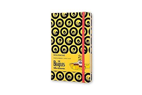 Moleskine The Beatles - Libreta grande, color amarillo