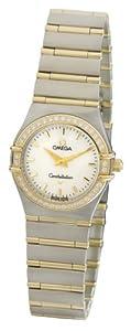 Omega Women's 1277.70.00 Constellation Quartz Small Diamond Bezel Watch image