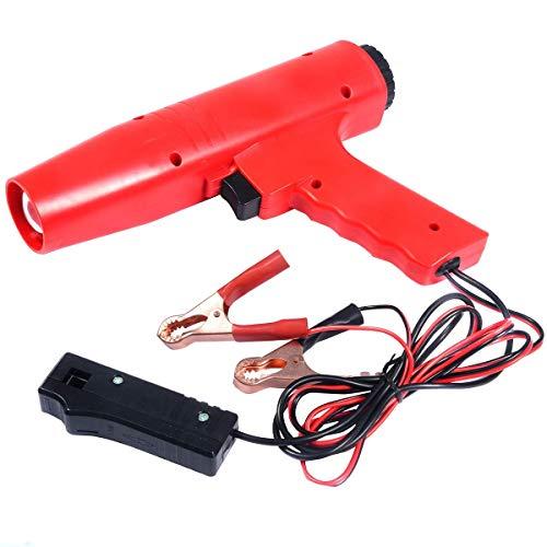 COSTWAY Pistola Estroboscopica 12V Lámpara de Tiempo Luz de Encendido Ajuste