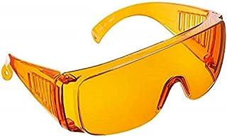 Sleep Enhancing Orange Glasses - Green & Blue Light Blocking Amber Computer Lens - Fits Over Prescription Frames - Fight D...