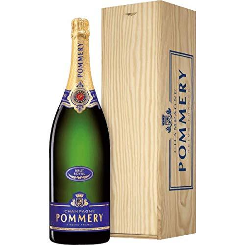 Champagne Brut Royal Pommery Jeroboam in Cassetta Legno - Il Piacere di Regalare Champagne – Cod. V219