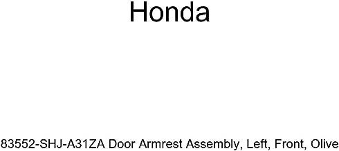 Honda Genuine 83552-SHJ-A31ZA Door Armrest Assembly, Left, Front, Olive