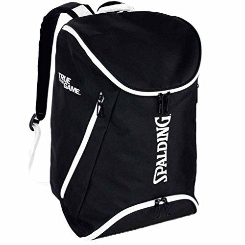 Spalding Basketball Rucksack schwarz/weiß + Trinkflasche