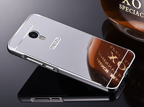 Febelo (TM) Branded Luxury Metal Bumper with Acrylic Mirror Back Cover Case...