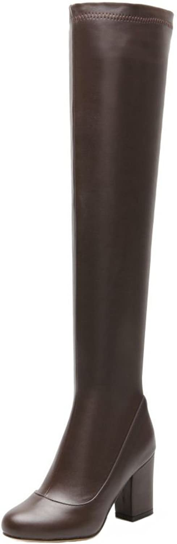 FizaiZifai Women Winter Boots Half Zipper