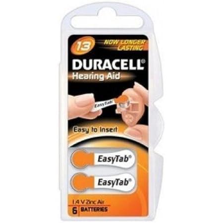 Duracell Hörgerätebatterie Activair 13 10 Päckchen Elektronik