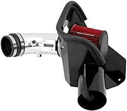Spectre Performance Air Intake Kit with Washable Air Filter: 2007-2012 Nissan Altima, 2.5L L4, Red Oiled Filter with Polished Aluminum Tube, SPE-10233