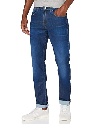 7 For All Mankind Mens Slim Jeans, MID Blue, 38