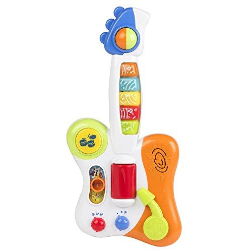 WinFun - Guitarra eléctrica para bebé con luz y sonido