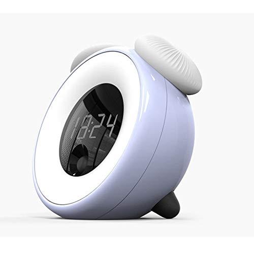 MxZas Eenvoudig design digitale wekker op netstroom zonder snacknack eenvoudige bediening wekker nachtlampje nachtrust voor slaapkamer kantoor wekker