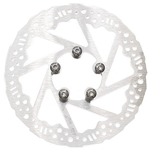 Huante - Disco de freno de 135 mm para accesorios de disco de freno de rueda trasera de scooter eléctrica M365