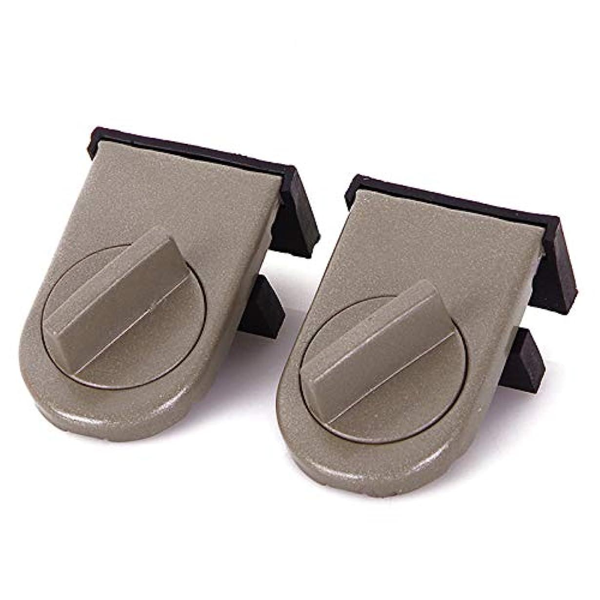 フィード異常な衣装HLLXHWZJ 2ピース調整可能な盗難防止安全スライディングウィンドウドアロック制限セキュリティウィンドウサッシストッパー