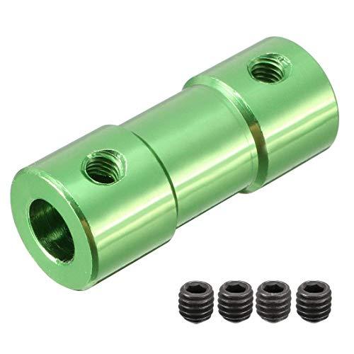 Schachtkoppelaar Connector Adapter voor RC Vliegtuig Boot Motor a2.3xb4xL20XD9 Groen