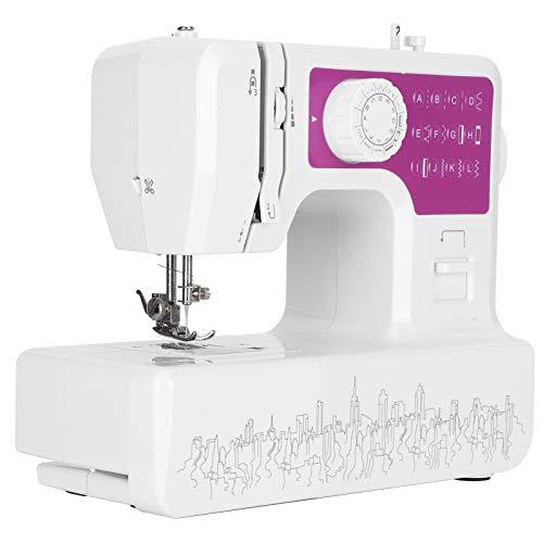 Máquina de coser doméstica con 12 puntadas, Costura bidireccional Máquina de acolchado portátil Bobinado automático Máquina de coser eléctrica Herramienta de bordado para principiantes, niños(yo)