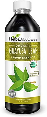 Guayusa Leaf Extract Clean Energy Boost Drink Brain Clarify Focus Natural Caffeine Coffee Alternative product image