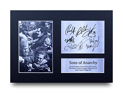 HWC Trading Sons of Anarchy A4 Unframed Signé Image Autographe Imprimé Impression Photo Cadeau D'Affichage pour TV Show Ventilateurs
