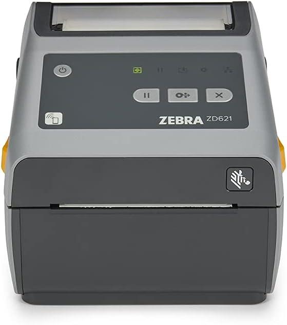 Zebra ZD621 Direct Thermal Desktop Printer 300 dpi Print Width 4-inch USB Serial Ethernet ZD6A043-D01F00EZ