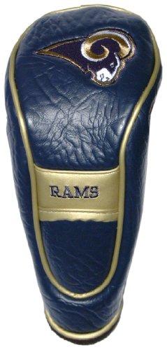 Team Golf NFL Los Angeles Rams Hybrid-Golfschlägerhaube, Klettverschluss, Velours-Futter für zusätzlichen Schutz des Schlägers.