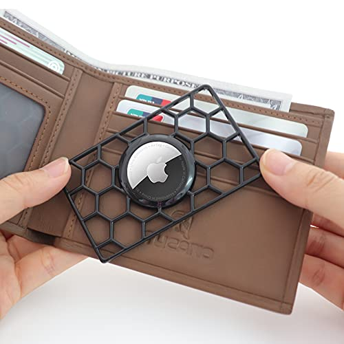 HLHGR Airtag Wallet Case Slim Thin Card Case Holder for...