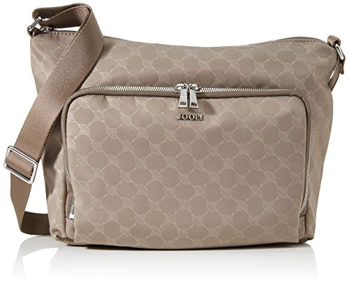Joop! Damen bela shoulder bag (zipper, Taupe, 27X23X10,5