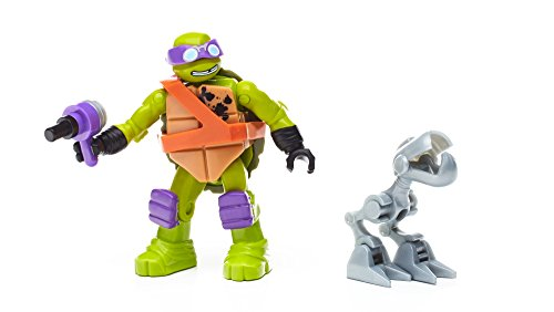 Mega Construx Teenage Mutant Ninja Turtles Donnie Mouser Attack Building Set NEW