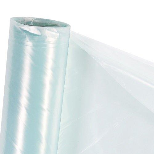HaGa® UV4 Gewächshausfolie (Meterware) Folientunnel Tomatenhaus Folie 6m x 1m - winterfest - transparent - UV-beständig