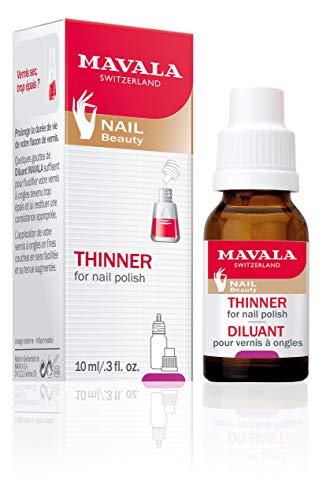 Mavala Nagellack Verdünner, für die richtige Konsistenz der Nagellack, 10 ml