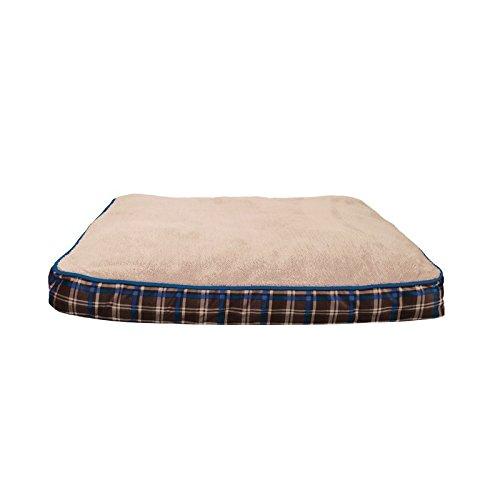 Dogit mat Scottish Xl, 71 x 91 cm, beige/blauw