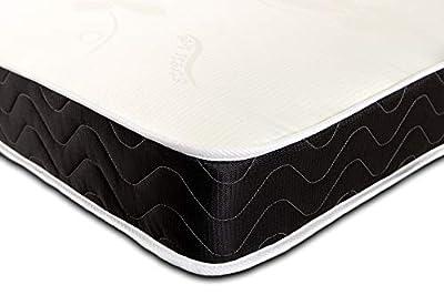 eXtreme Comfort The Hypoallergenic Memory Foam Spring Mattress. (Stress Free Flat Top, 2ft6 Small SIngle Mattress (75cm x 190cm))