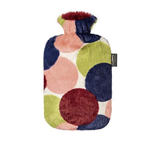 Fashy Wärmflasche mit Flauschbezug, 2000 ml
