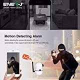 Ener-j Smart Wi-Fi HD Indoor Pan Tilt Camera, 1.3MP, 2 Way Audio, Motion Detector, Wifi, Mobile View, Security Lighting