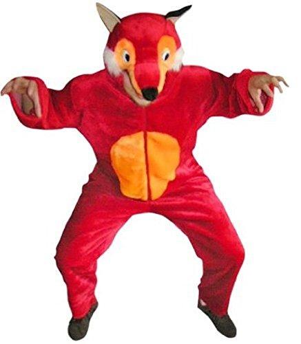 Fuchs-Kostüm, F21 Gr. L-XL, Fasnachts-Kostüme Tier-Kostüme, Fuchs-Kostüme Füchse Kostüme Fuchs-Faschingskostüm, Fasching Karneval, Faschings-Kostüme, Geburtstags-Geschenk Erwachsene