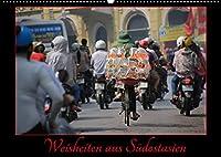 Faszination Suedostasien (Wandkalender 2022 DIN A2 quer): Ein Kalender fuer Reisende und Fernwehgeplagte mit Weisheiten aus Suedostasien (Monatskalender, 14 Seiten )