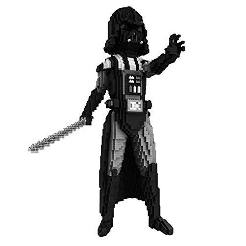 LHANZ Juego de Bloques de construcción Anakin Skywalker Imperial Stormtrooper Partículas pequeñas ensamblan colección de Juguetes de Tendencia DIY Accesorios Adornos