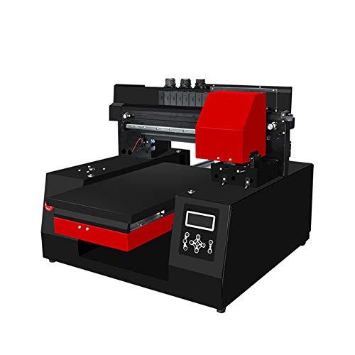 Impresora de cama plana LED de 6 colores UV Máquina de impresión de camisetas pequeñas Ropa Equipo digital Máquina de impresión de color plano Máquina de impresión en relieve de teléfono móvil