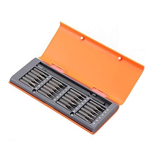 SPNEC Set de Destornillador 24 en 1 Destornillador magnético Set de bits Torx Torx Hex Destornillador bits Teléfono Teléfono PC Herramientas (Color : B)