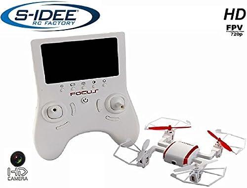 s-idee 1626 Quadrocopter TR002 FPV 5.8 GHz übertragung HD KAMERA 4.5 Kanal 2.4 Ghz Drohne mit Gyroscope Technik DROHNE MIT WIFI FPV Drone HD Kamera