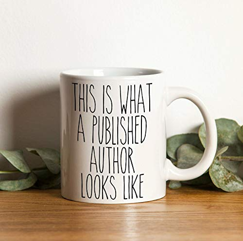 Author Gift Mugs Author Coffee Mug This is What a Published Author Looks Like