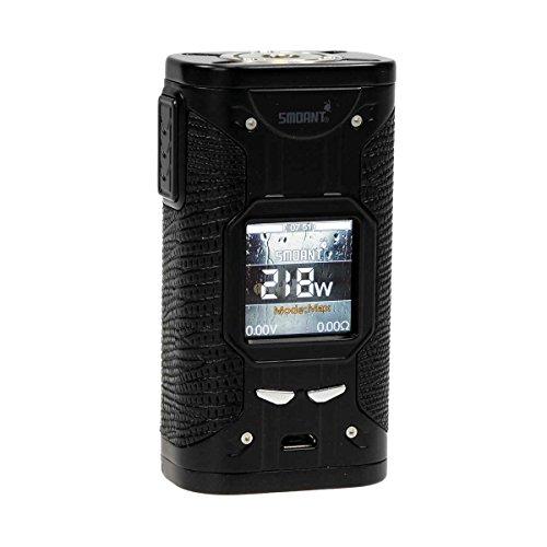 Smoant Cylon TC 218 Box MOD 218 Watt, Riccardo e-Zigarette - Akkuträger, schwarz