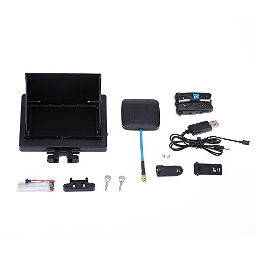 "GoolRC 5.8G 8CH 4.3"" FPV Real-time Transmission Display Screen with 2.0MP HD Camera for SYMA X5C X5SC RC Quadcopter"