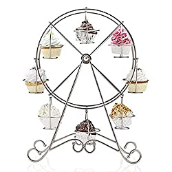 Image: Charmed Ferris Wheel Cupcake Stand for Carnival and Circus Theme Party, by Charmed Fashion Inc