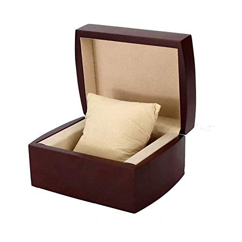 WHZG Caja joyero Caja de joyería de Las niñas de los Hombres Regalos del Reloj de la Caja de joyería de la Caja de joyería de la Caja de joyería sólida Organizador Joyas