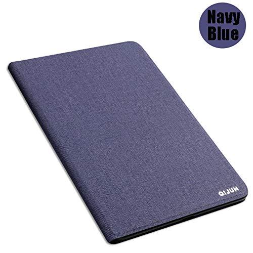 Coque Für Samsung Galaxy Tab 3 8,0 Zoll SM sm-T310 T311 T315 Abdeckung Business Tablet Hülle Fundas Leder Rückentaschen Tasche Capa-Navy blau