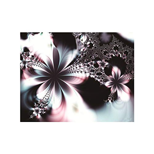 TianMai Heiß Neu DIY 5D Diamant Malerei Kit Voller Bohrer Diamant Stickerei Strass Malerei Kleben Malen nach Zahlen Stich Kunst Kit Zuhause Dekor Mauer Aufkleber - Fantasie Blume, 25x30cm